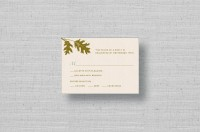 Oak Tree Wedding Response Card